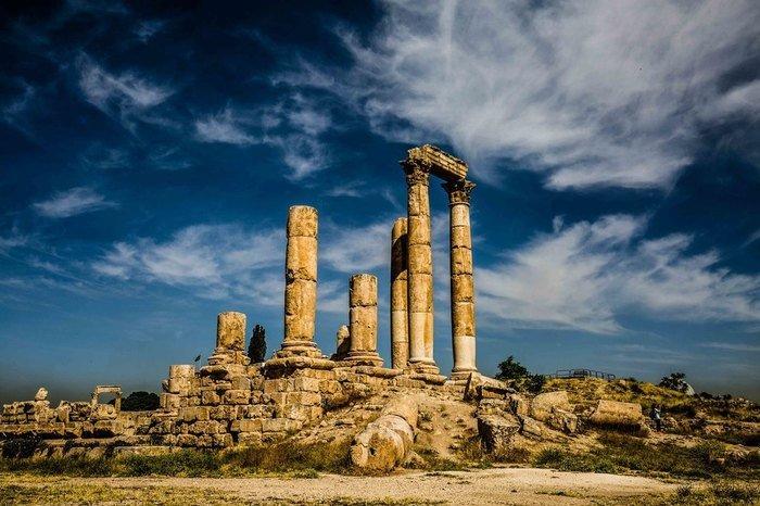 Ruins of Amman Citadel