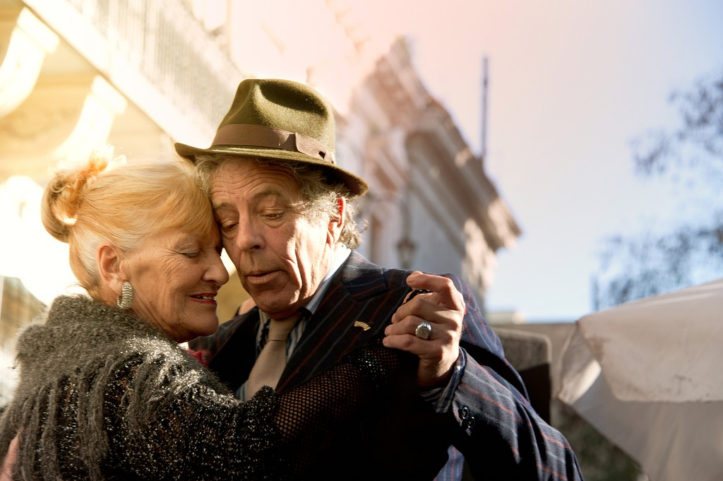 Pochi and Osvaldo are San Telmo's emblematic tango couple - they've been dancing together for three decades