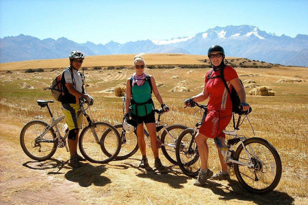 Biking in Peru
