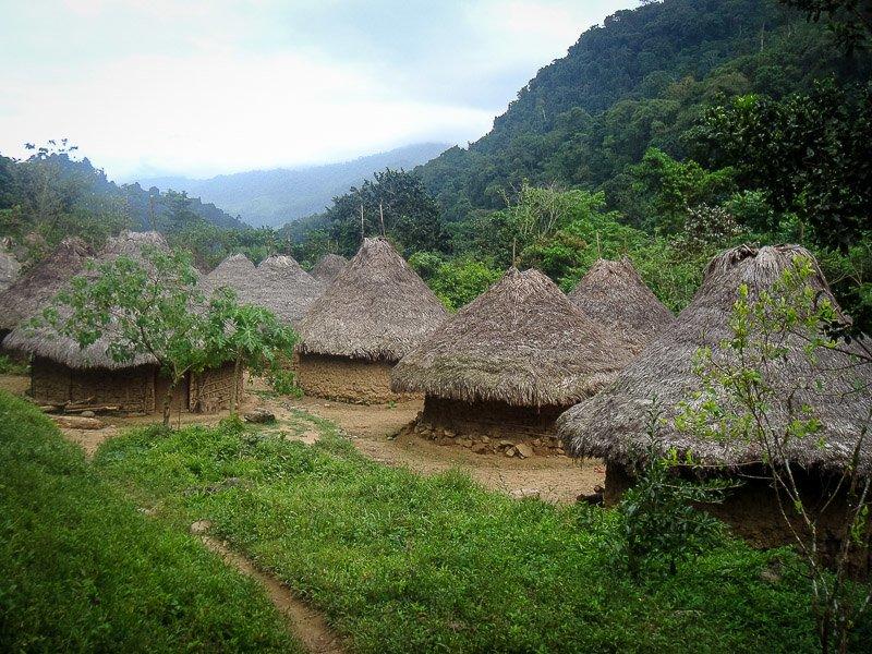 The village of Mutanyi.