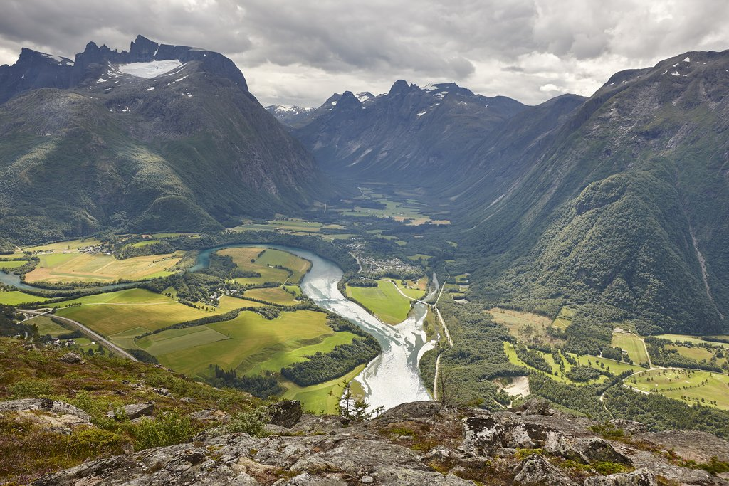 The Romsdalen glacial valley