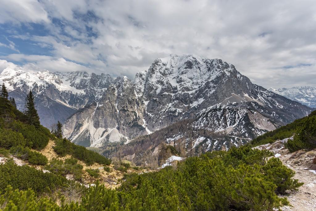 Vrsic Pass, heart of the Julian Alps
