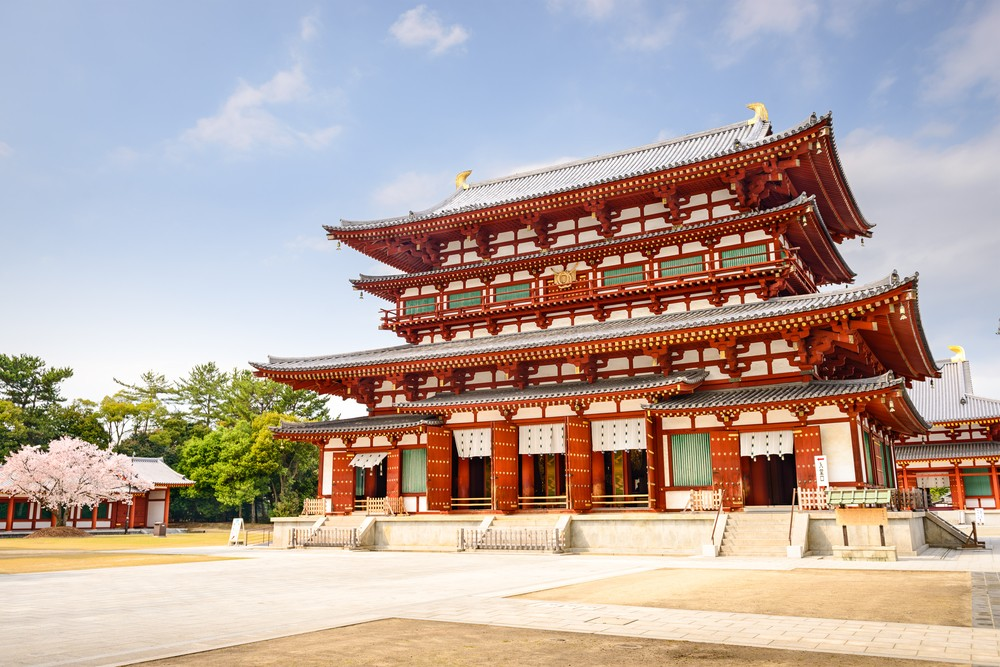 The ancient capital of Nara