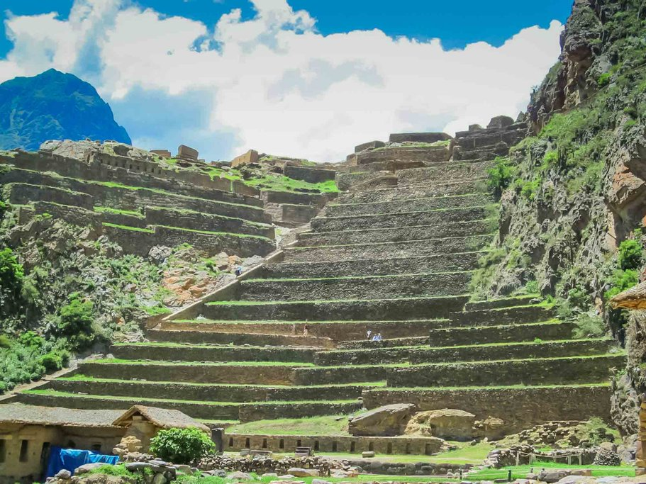 The amazing terraces of the Sacred Valley.