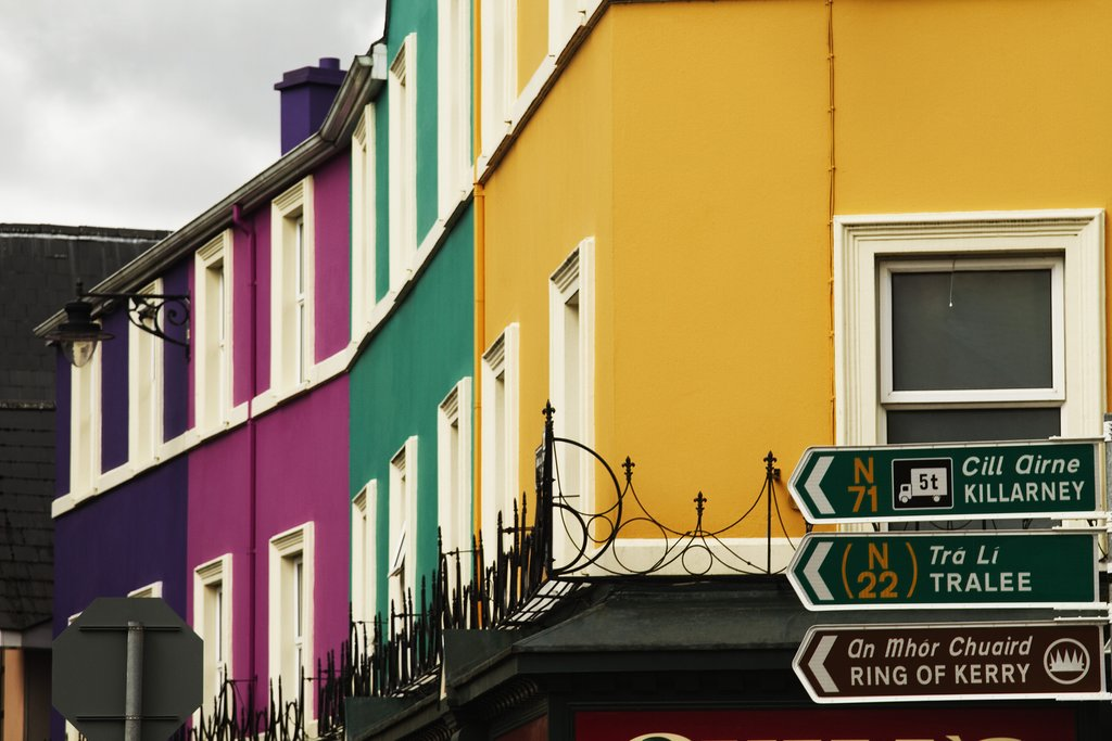 Houses, County Kerry, Kenmare, Ireland