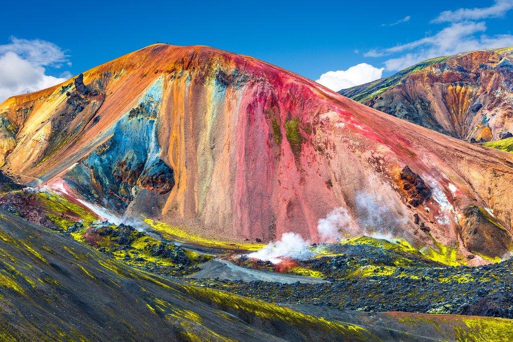 Landmannalaugar - Brilliant Rhyolite Mountains