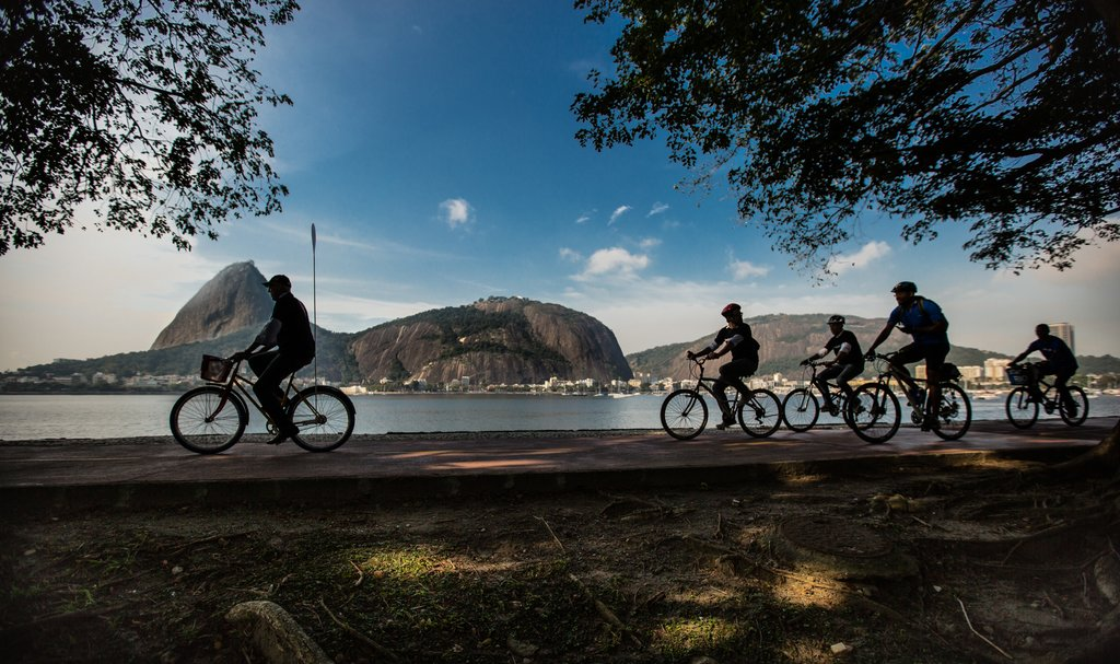 Explore the beaches of Rio by bike today - it's a slow and easy ride with plenty to see