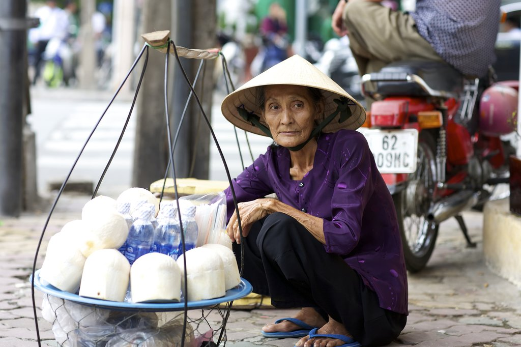 Street Vendor in Ho Chi Minh City