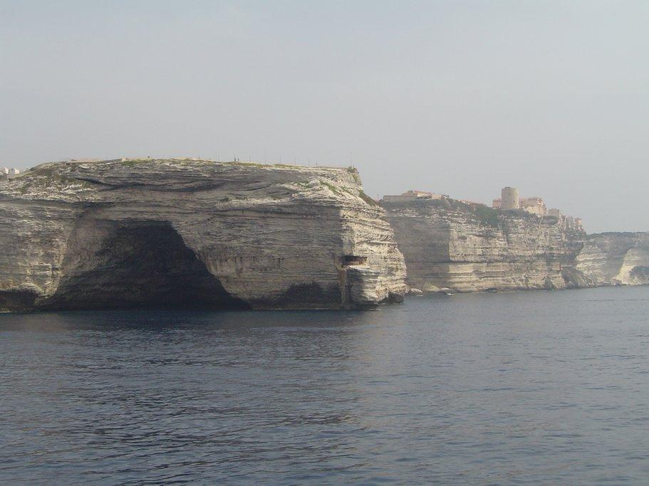 The cliffs of Bonifacio