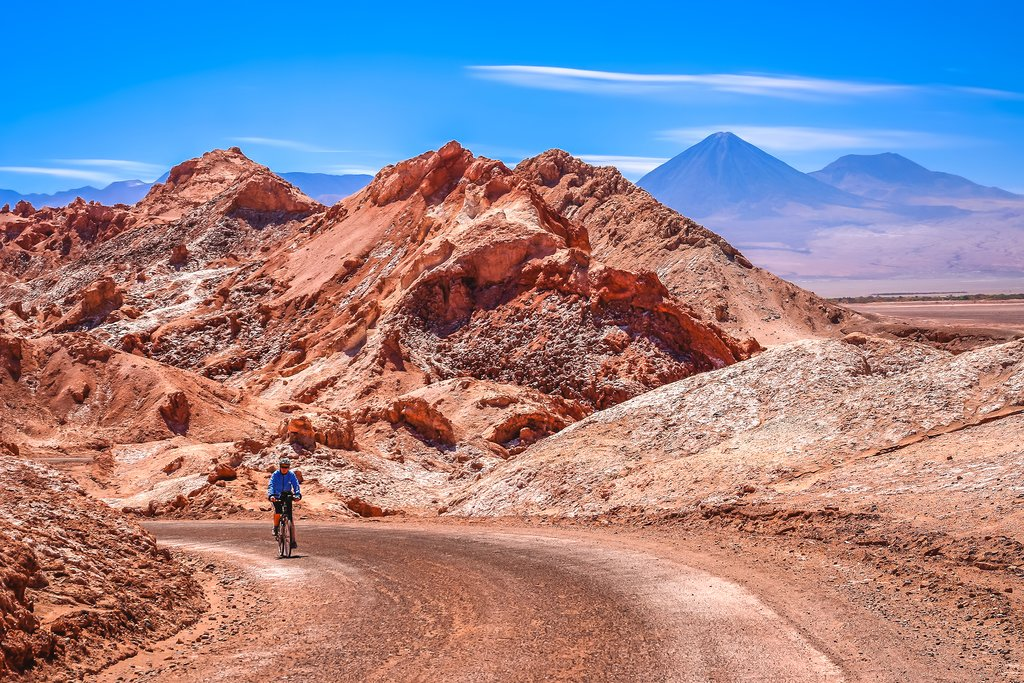 Biking through the Atacama
