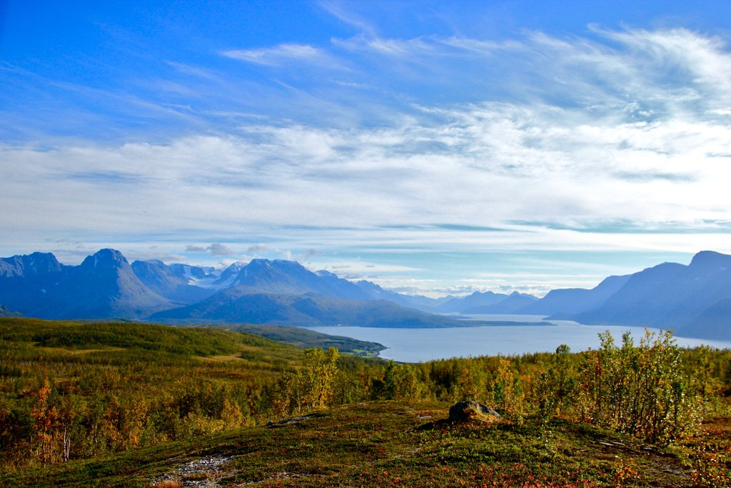 View over Ullsfjord