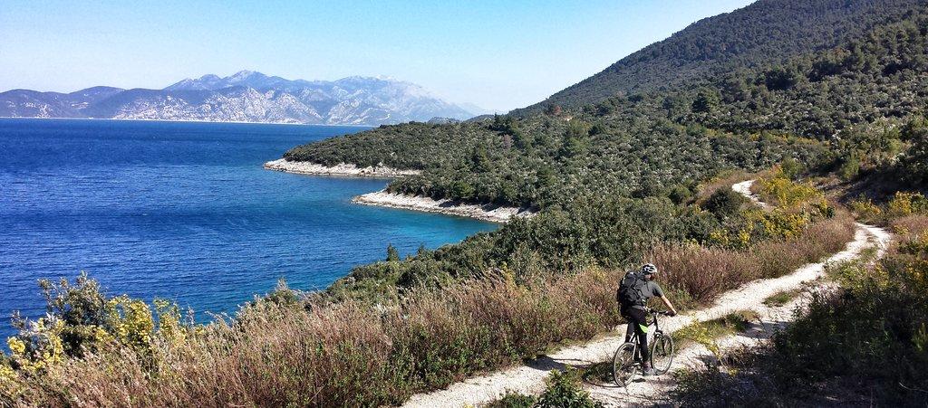 Cycling Korčula Island