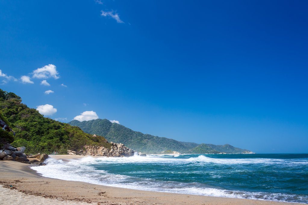 Canaveral Beach, Tayrona National Park