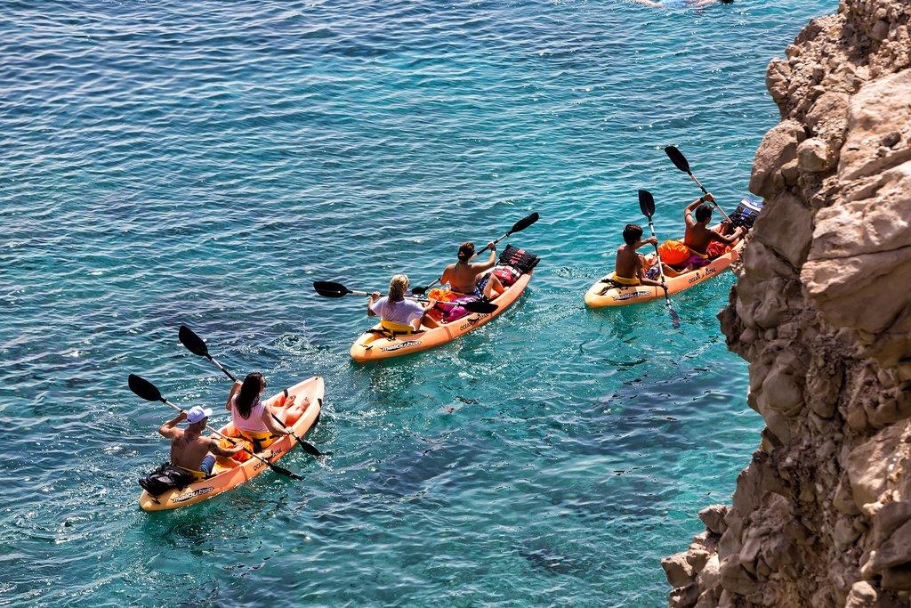 Kayaking in Greece