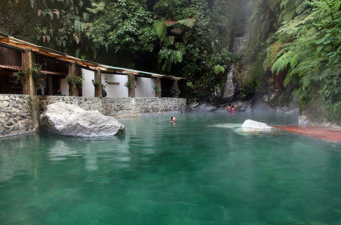 Thermal waters of the Fuentes Georginas hot springs