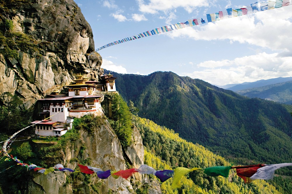 The famed Tiger's Nest Monastery
