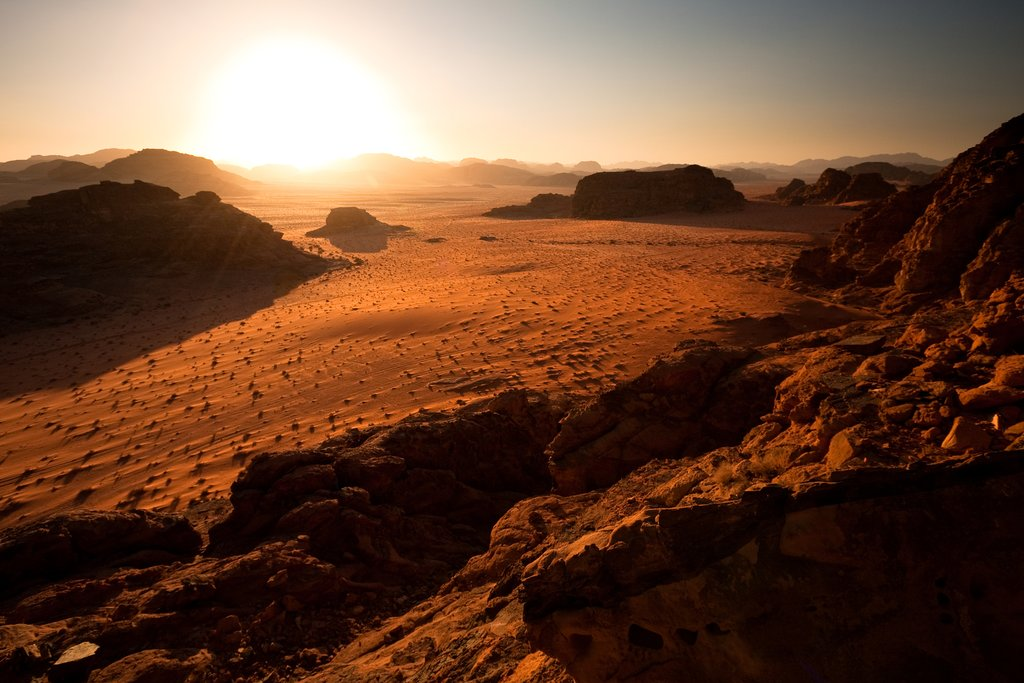 Evening in Wadi Rum