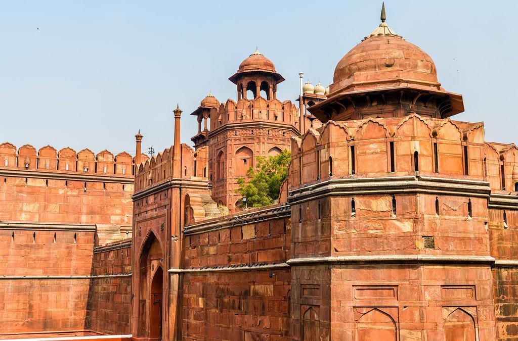 Red Fort Delhi Gate, Delhi