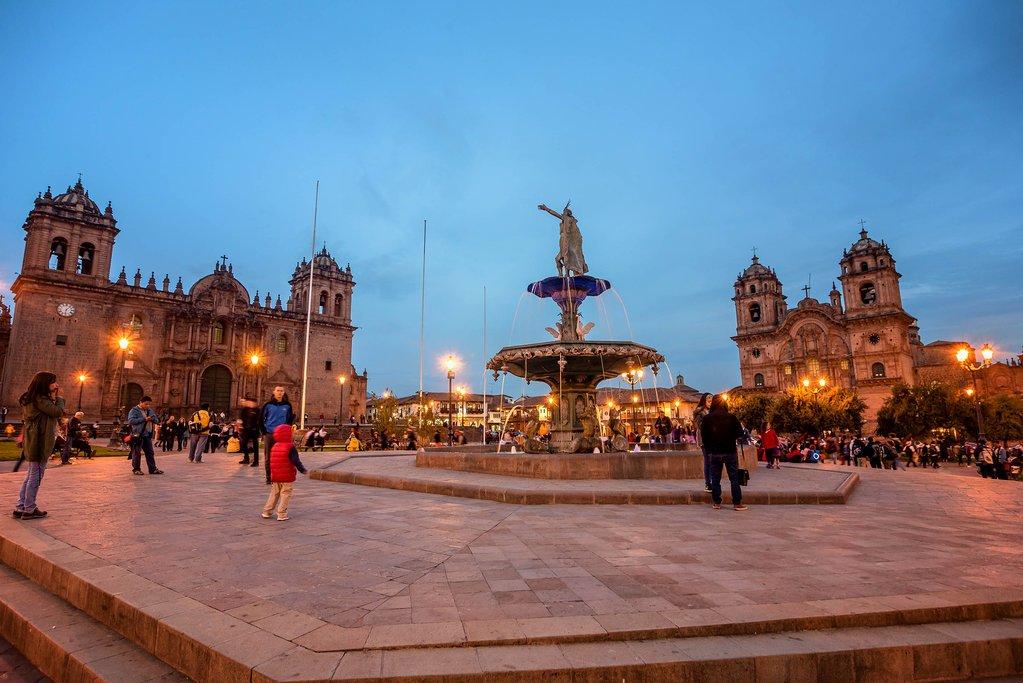 Cusco at night