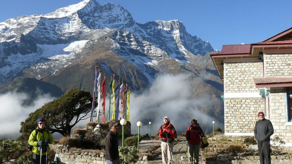 Monastery in Namche