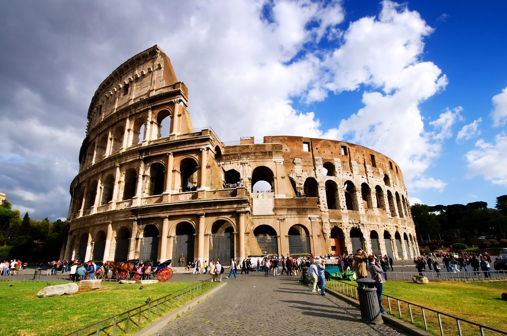 The iconic Colluseum