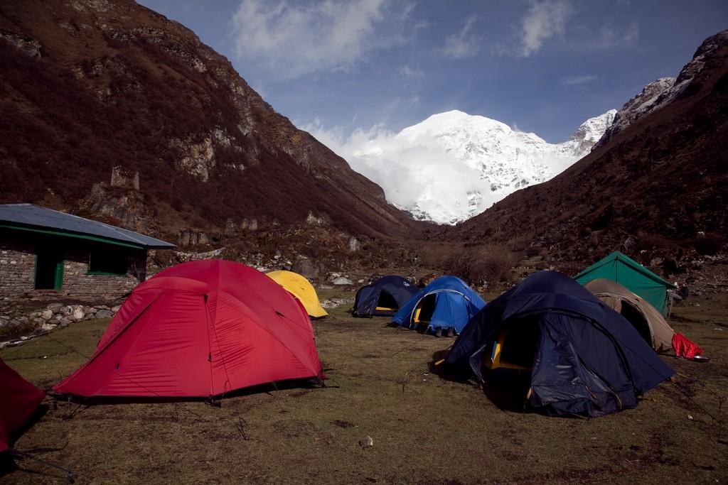 Camp atJangothang