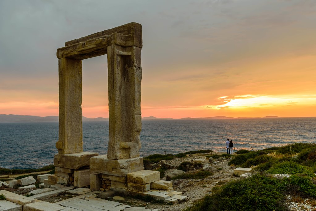 The Portara in Naxos