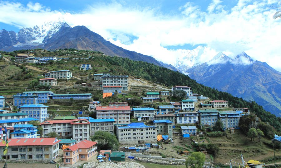 Houses in Namche