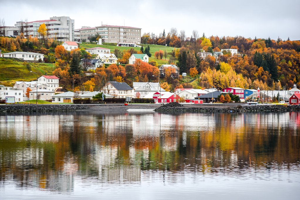 Akureyri in Autumn