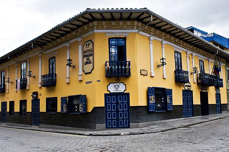 Exterior of Posada del Angel