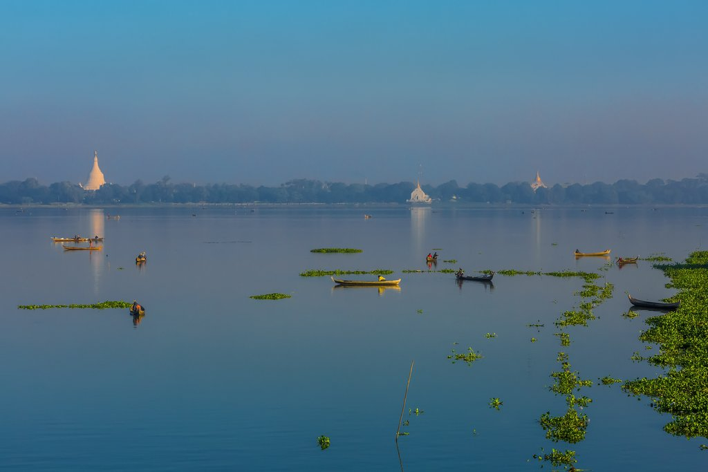Taungthaman Lake, Amarapura