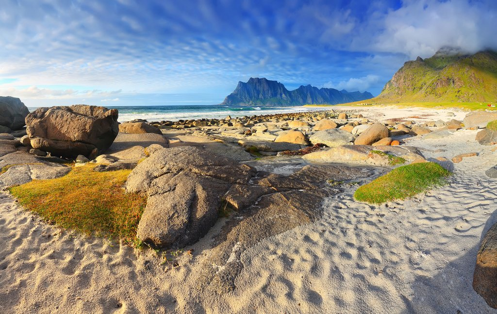 Uttakleiv Beach, Lofoten Islands, Norway