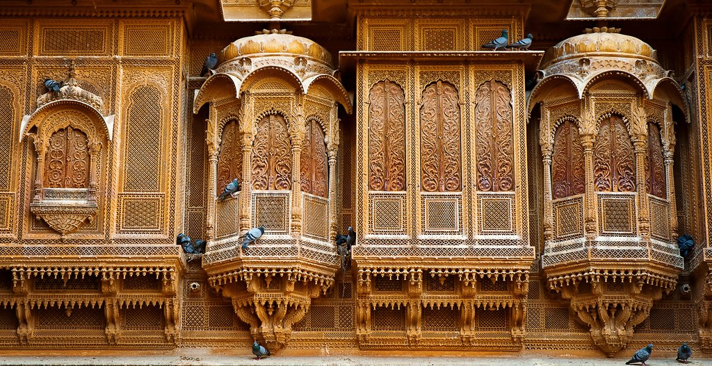 Patwon Ki Haveli palace, Rajasthan, India