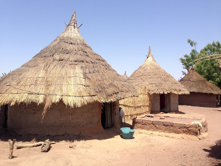 Village in Upper River Region Gambia