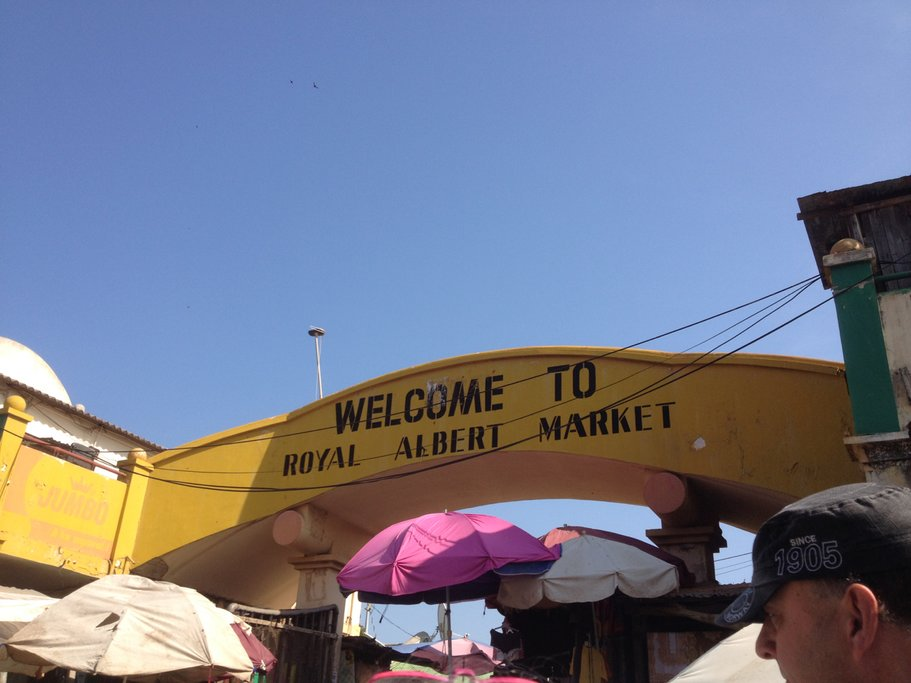 Banjul is home to Albert Market, one of the largest markets in the country