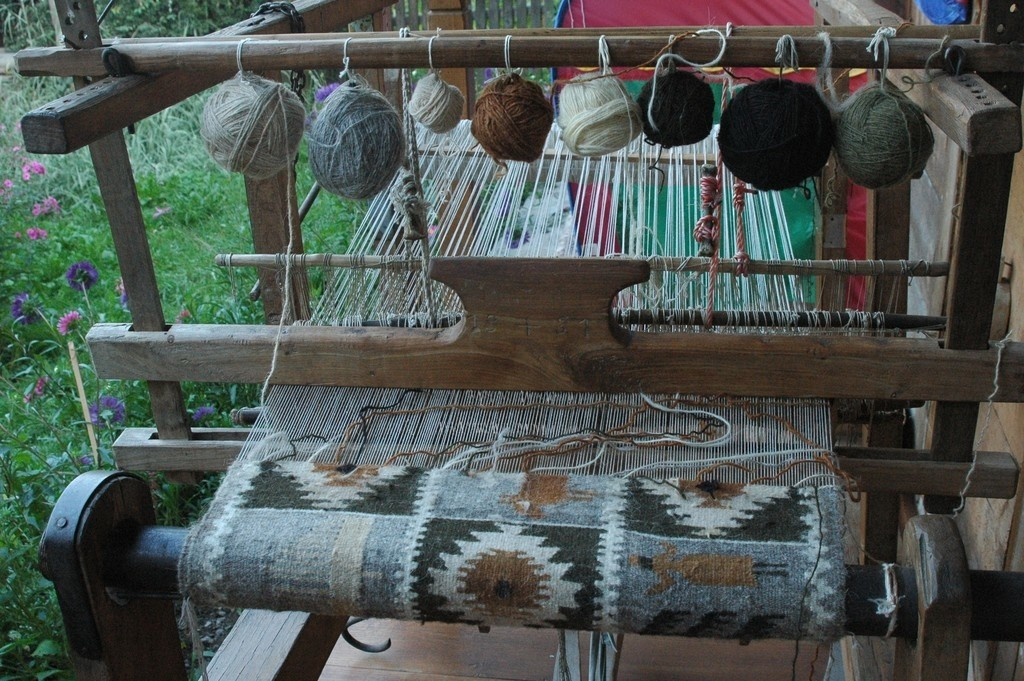 Traditional weaving in Maramures