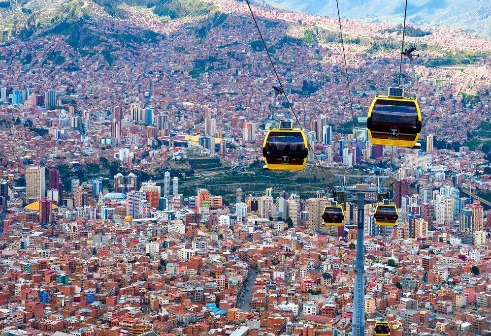 Mi Teleférico, La Paz, Bolivia