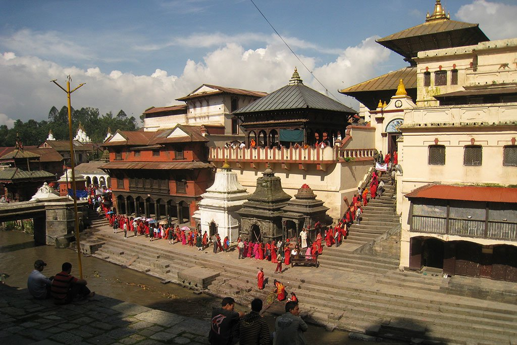 Teej festival at Pashupatinath