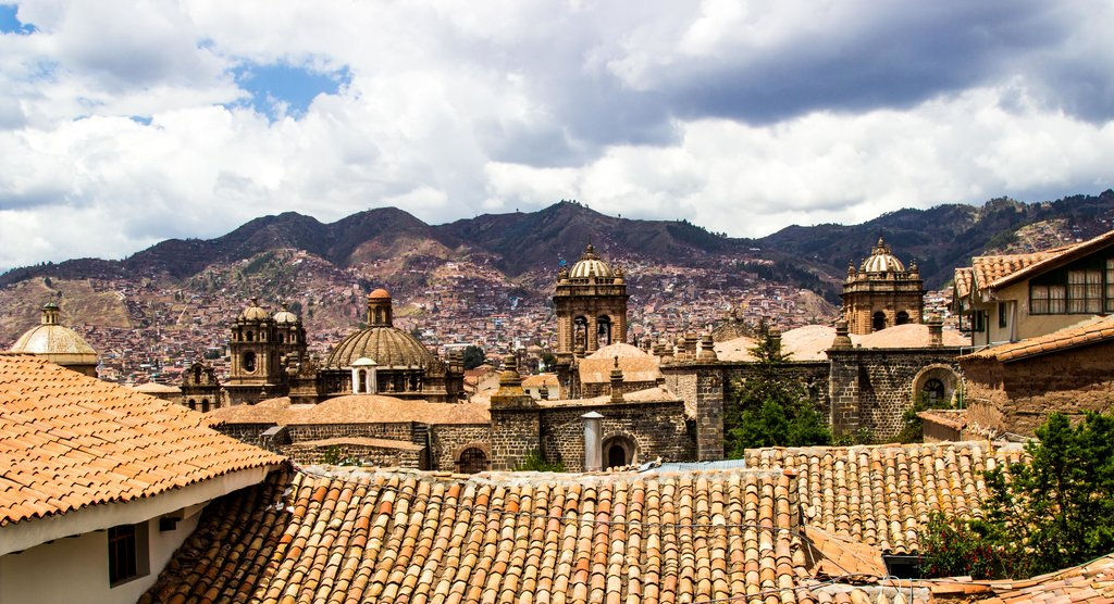 Cusco is characterized by impressive colonial and Incan architecture © Kiki Deere