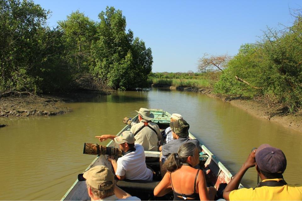 Sightseeing cruise on Halation River