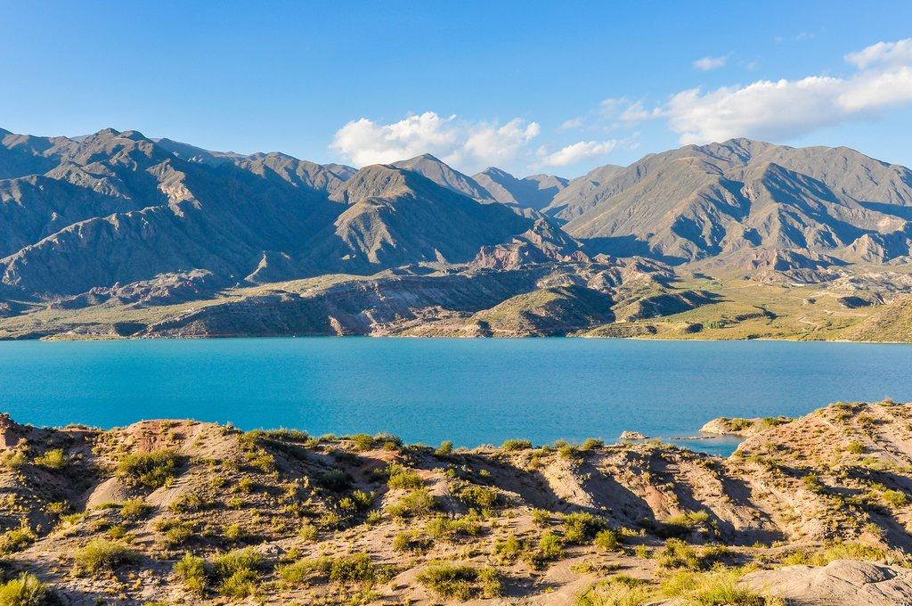 Potrerillos Dam, Mendoza, Argentina