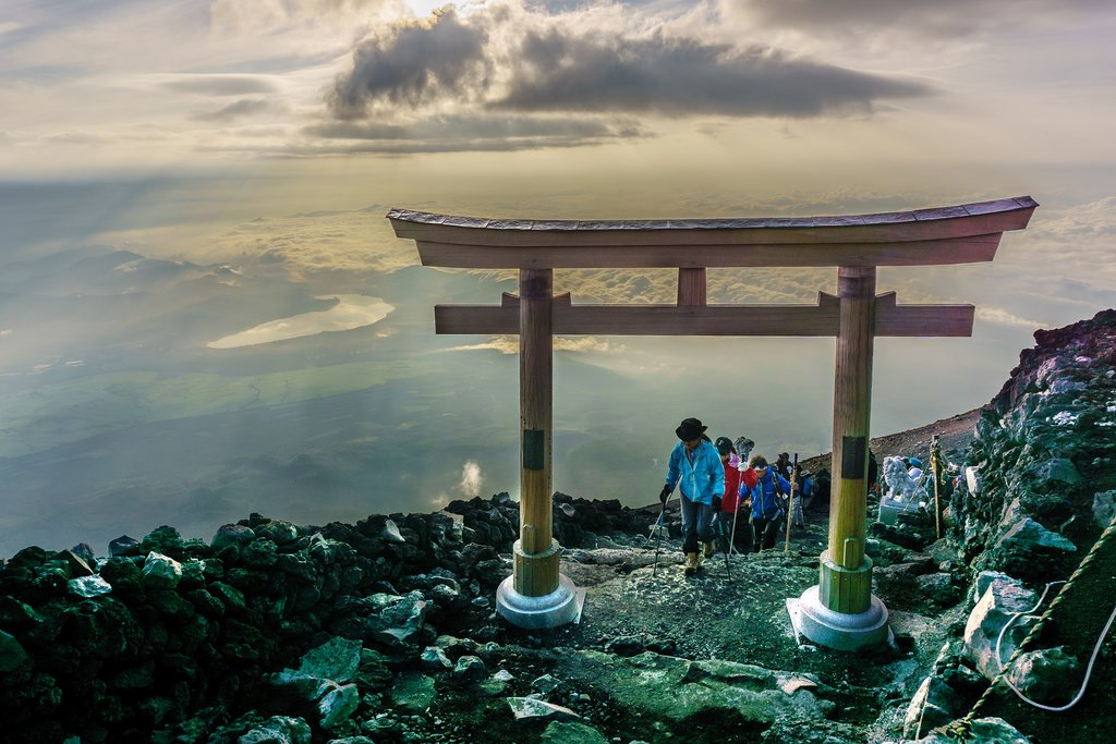 Hiking on Fujisan