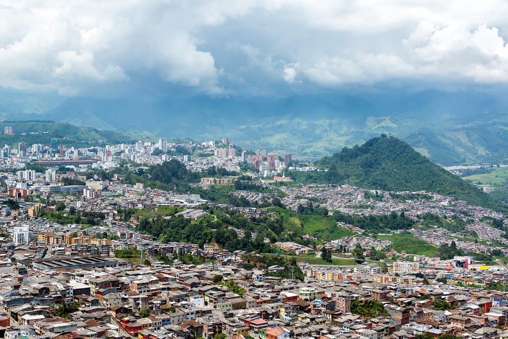 The hilly city of Manizales is full of culture.