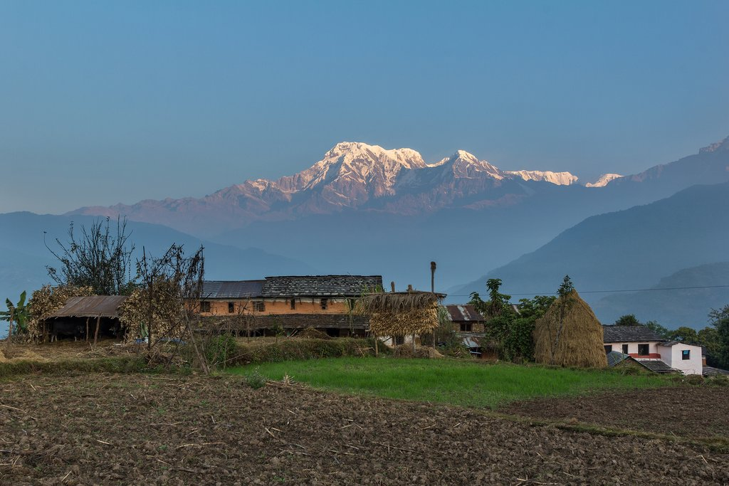 View of Annapurna