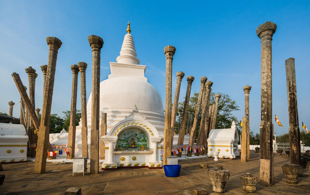 Thuparamaya dagoba, Anuradhapura