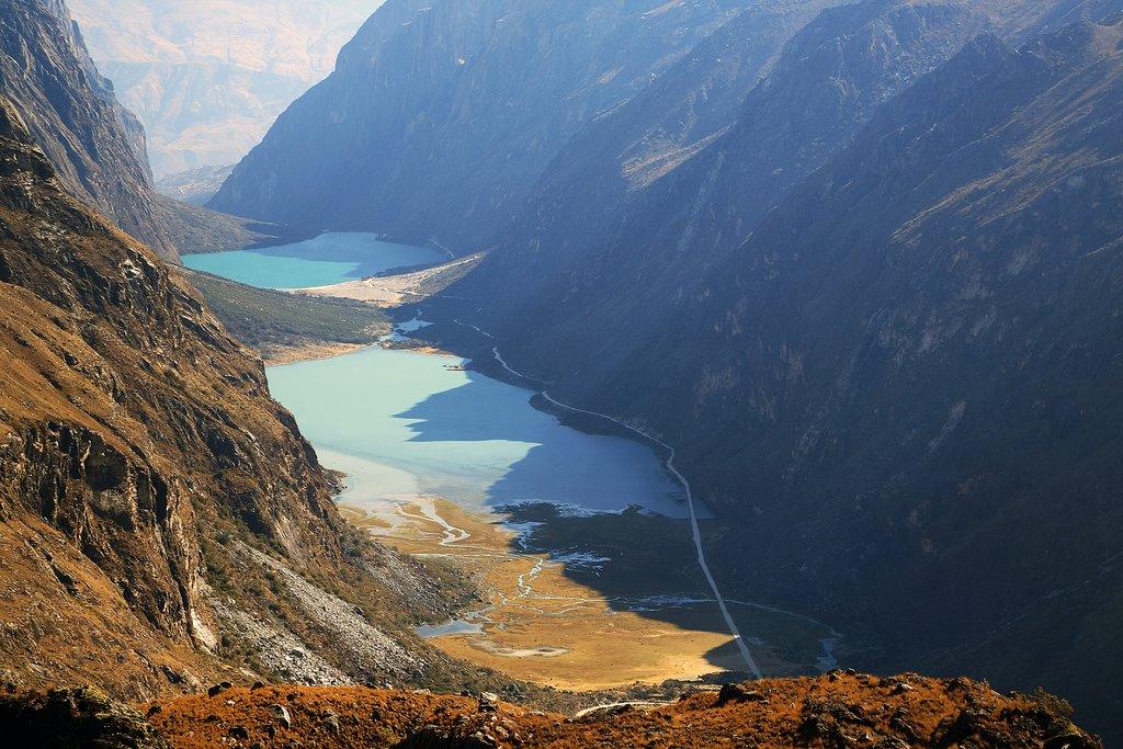 Valle Llanganuco, Peru