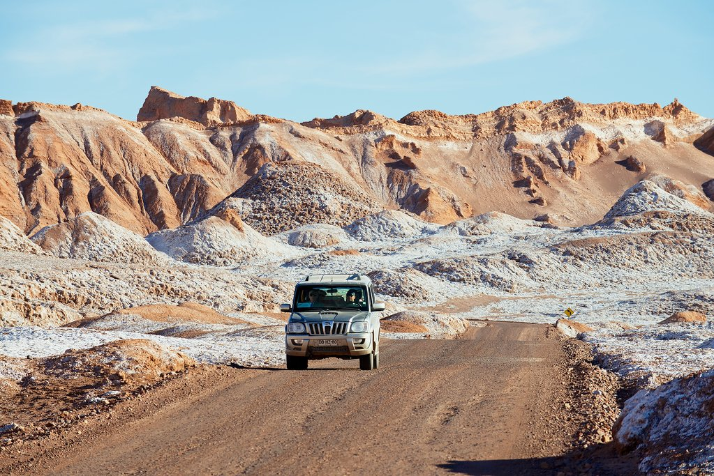 The road from San Pedro de Atacama