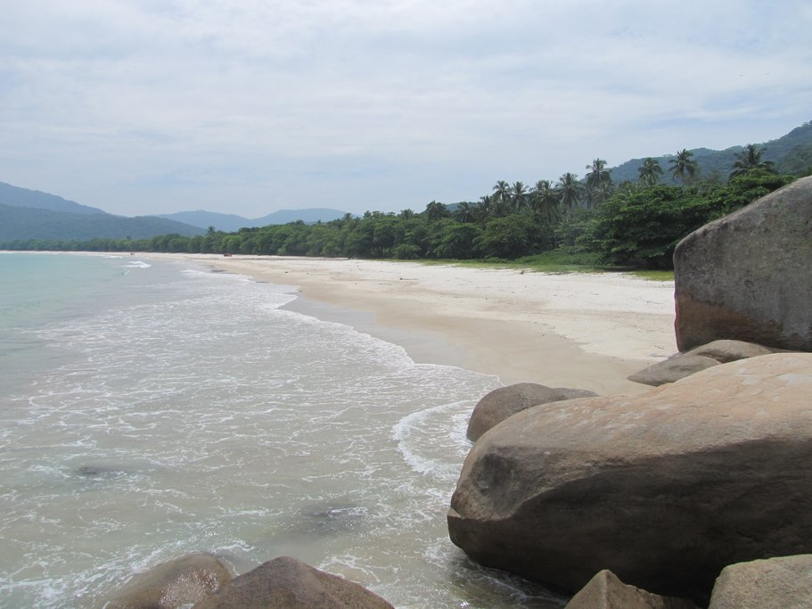 The beaches, mountains, and lakes ofIlha Grande offer many recreational opportunities