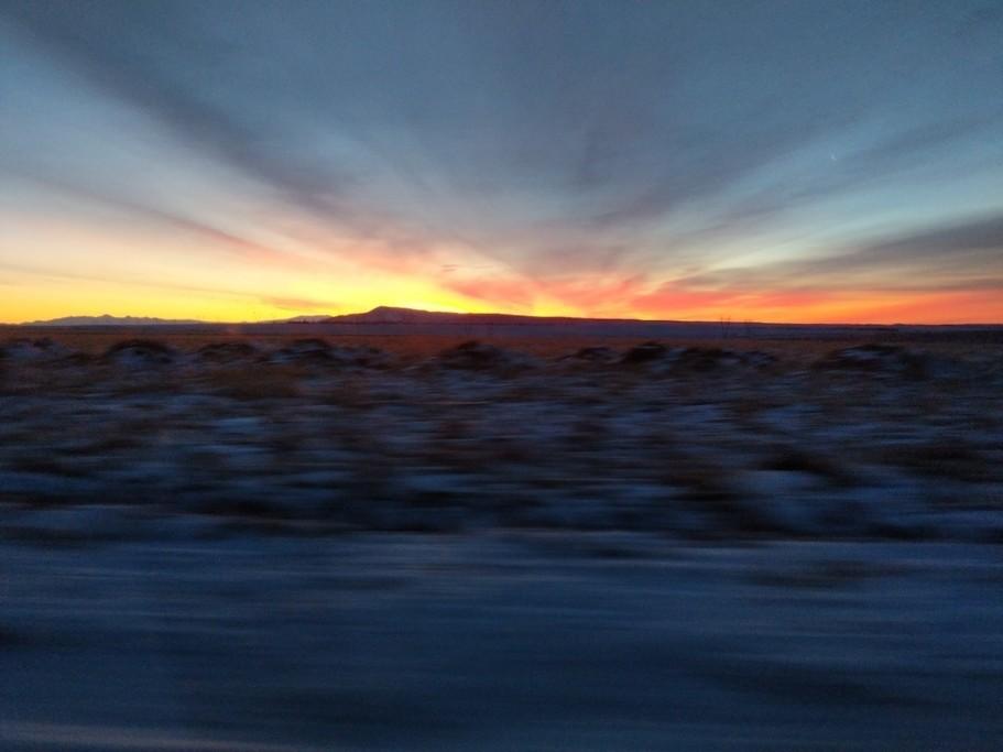 Driving the road to Skaftatell (photo courtesy of Jen Draper)