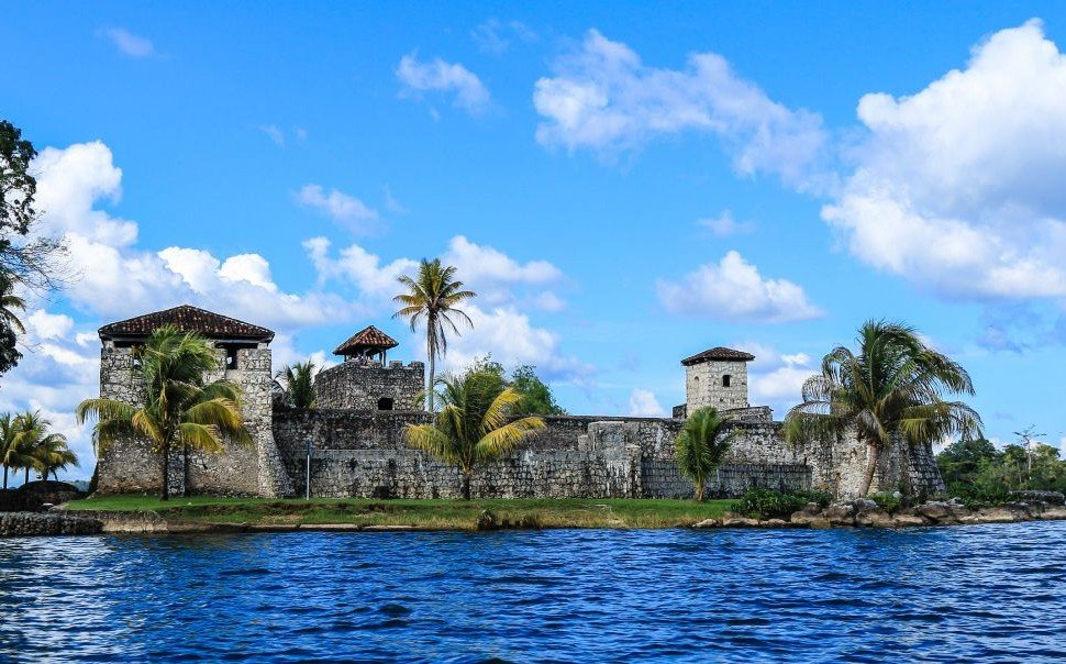 Castillo de San Felipe, a Spanish colonial fort on Rio Dulce